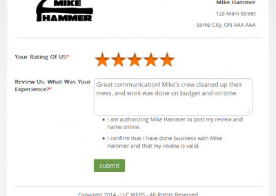 The review page is so simple that your conversions will go through the roof!